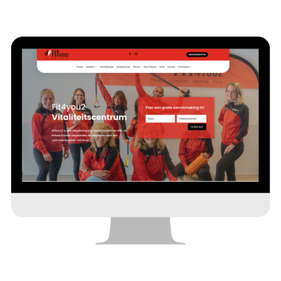 Webdesign ontwerp - Fit4you2